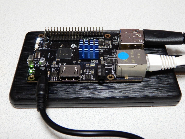 Équipement électrique industriel ROCK64 4GB single-board